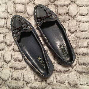 Sperry Blue Leather Loafers